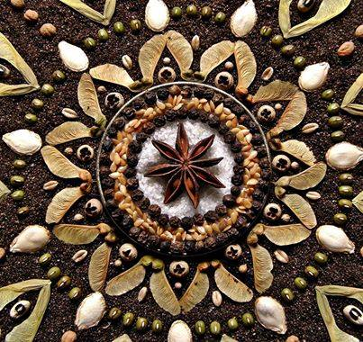 transpersonal supervision depicted by seed mandala order from cha